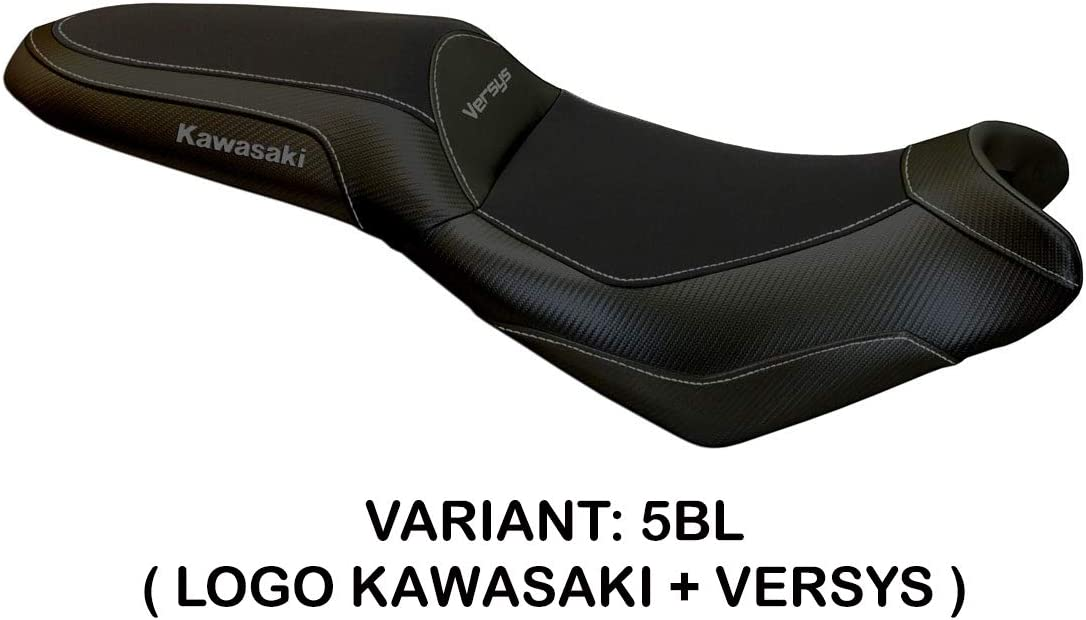 Bezug f/ür Sattel Kawasaki Versys 650 Mod Elba Tapete Italia gr/ün