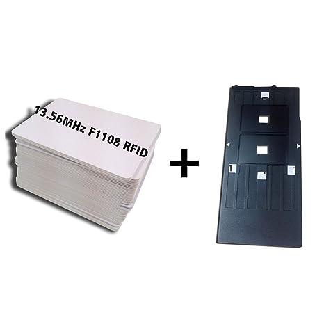 Amazon.com: 1pcs Inyección de tinta Bandeja de PVC Tarjeta ...