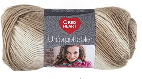 Red Heart Boutique Unforgettable Yarn  Cappuccino