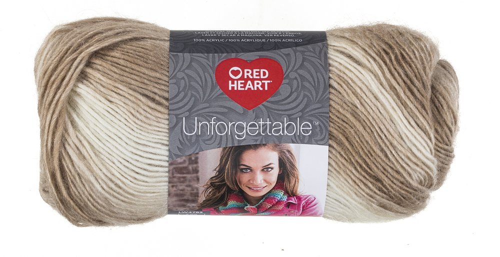 Coats Yarn Red Heart Boutique Unforgettable Yarn-Cappuccino