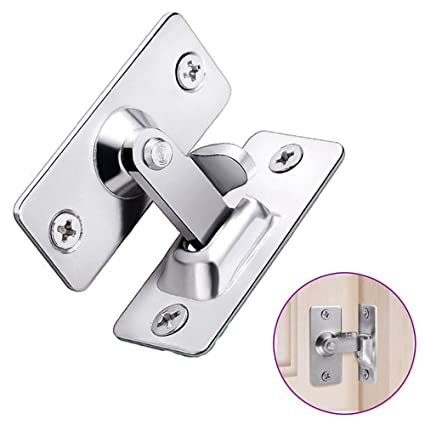 90 degree door clasp lock shift door lock button push pull button door latch special door  sc 1 st  Amazon.com : door clasp - pezcame.com