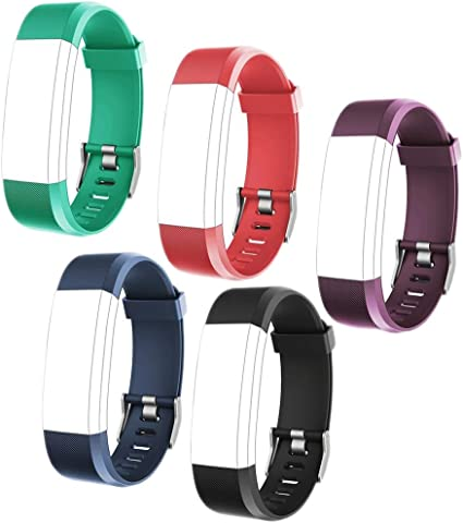 Black16 HISILI Replacement Strap Band Compatible with Waterproof Fitness Tracker