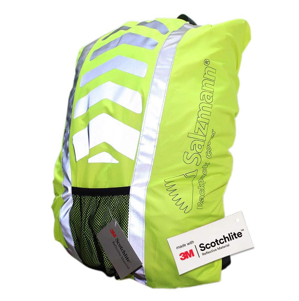 Salzmann 3M Scotchlite Reflective Backpack Cover, Rucksack Cover, Waterproof, Rainproof, 25-36 litres Salzmann Ltd 40005