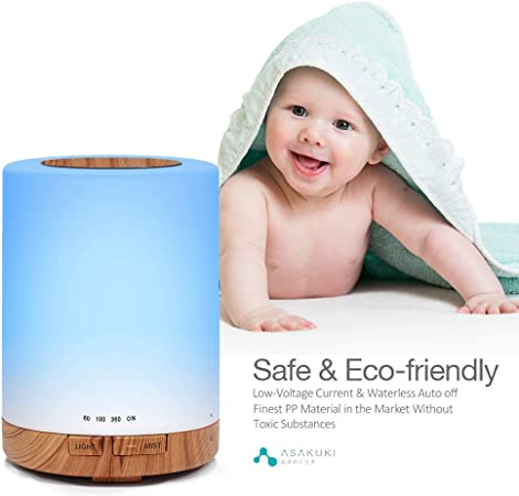 Kotee Electric Ultrasonic Cool Mist Humidifier 7 LED Color