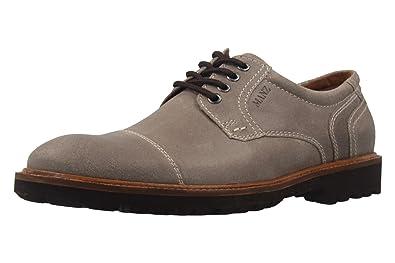 Manz Herren Business Schuhe Schwarz Schuhe in Übergrößen