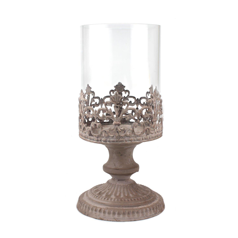 Stonebriar Collection Grand Fleur de Lis Candleholder