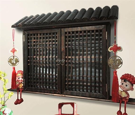 Rolladenkasten Dekorieren hetao haus dekoration meter box dekorative falsche fenster die