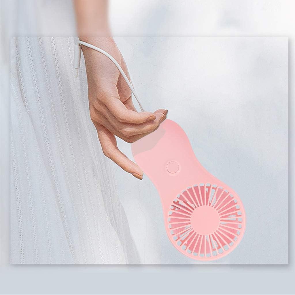 Fanct Portable Mini Pocket Fan Handheld Air Cooler Travel Outdoor Office Cooling Fan Power by 3X AAA Battery