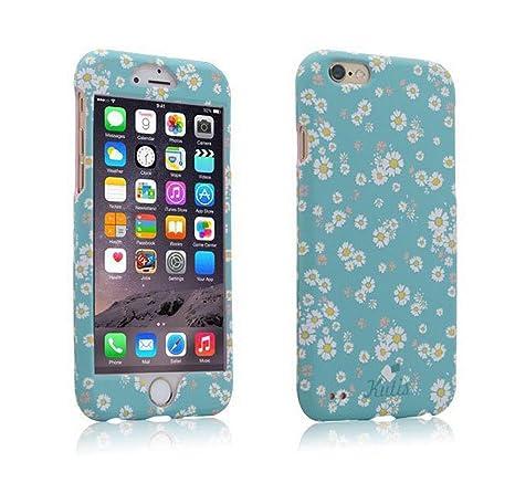 Amazon.com: bbeart iPhone 7 Plus Caso, moda dulce flor ...
