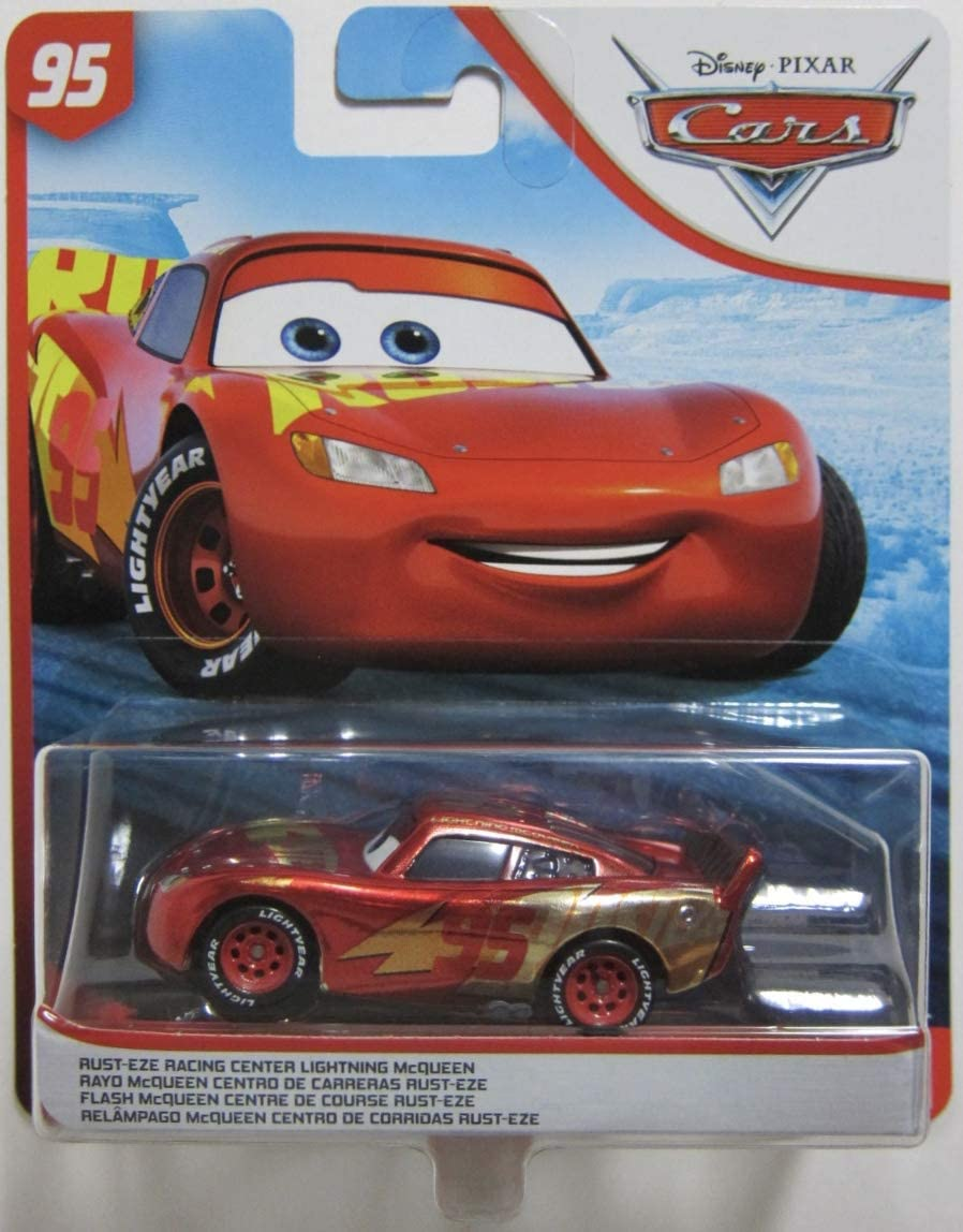 Amazon Com Dys Pixar Cars Rust Eze Racing Center Lightning