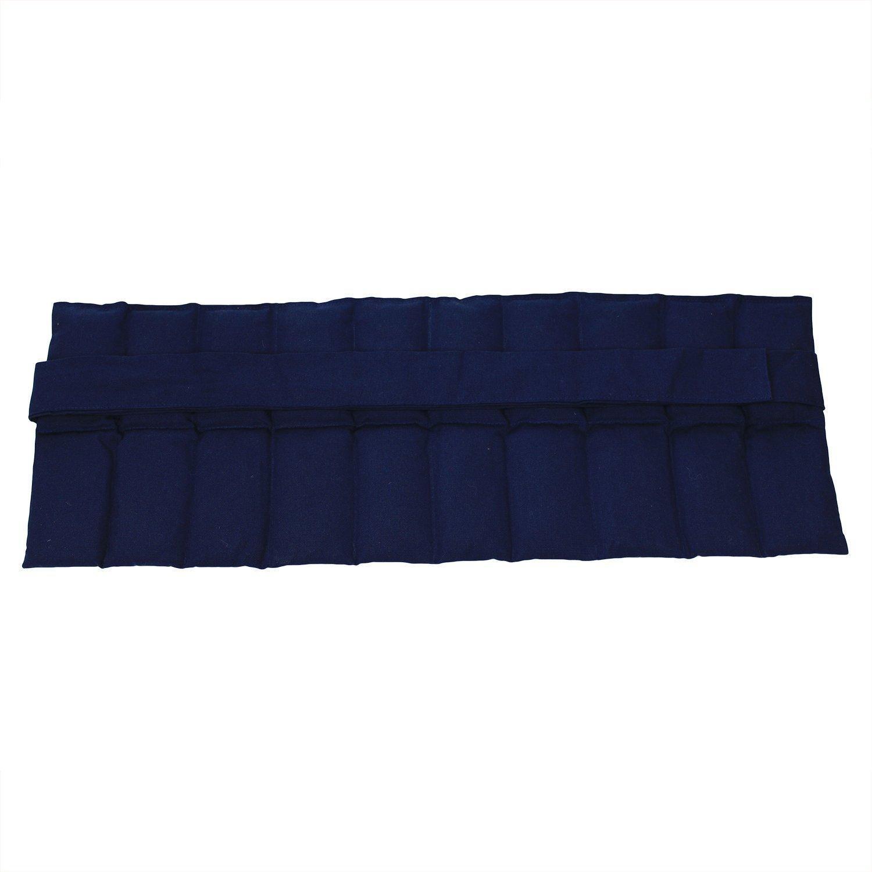 azul Almohada de Grano grande con Cintas Almohada de Grano de Ri/ñ/ón en Varios Colores para Calentar y Enfriar para Microondas Horno y Congelador Coj/ín t/érmico Relleno de Trigo