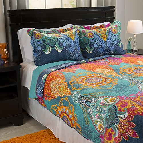 Nice Lavish Home Iona 3 Piece Quilt Set - Full/Queen free shipping
