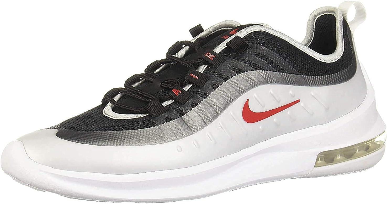 Nike Air MAX Axis, Zapatillas de Running para Asfalto para Hombre, Multicolor (Black/Sport Red/Mtlc Platinum/White 009), 40.5 EU: Amazon.es: Zapatos y complementos