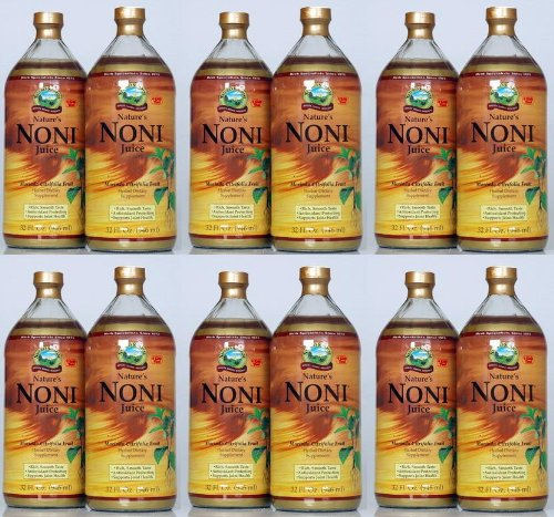 Naturessunshine Nature's Noni Supports Joint Health Two Bottle 32 fl. oz each (Pack of 6) by Nature's Sunshine
