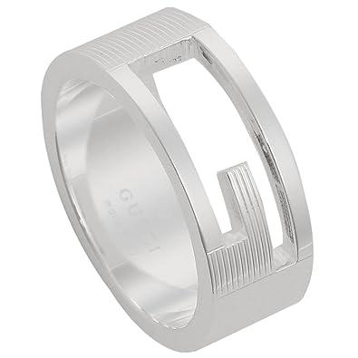the latest 42543 1a91e [グッチ] 指輪 GUCCI リングブランデッドレギュラーGリング Gマーク 032660 09840 8106 スターリング シルバー  [並行輸入品] 7号