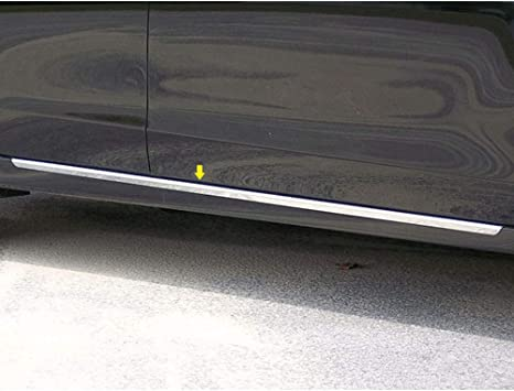 Brighter Design 2p Chrome 1.25 Accent Rocker Molding Trim fit for 2013-15 Nissan Altima