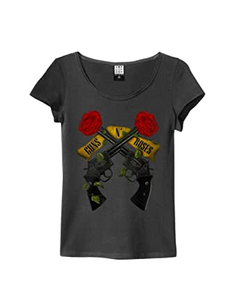 guns n roses t shirt damen amazon