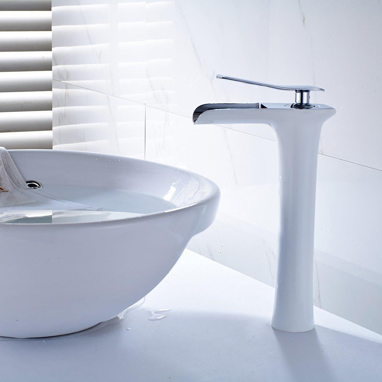 Oxydation Salle De Bain ~ fapully robinet salle de bain mitigeur lavabo blanc amazon fr