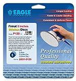 Eagle U651-0120 - 5 inch Finkat Stickon Discs - Grit P120 - (Job-Pak) - 5 Discs/Pack - 1 Pack