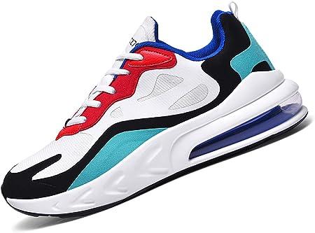 SINOES Air 270 3.0 Zapatillas Running Hombre Mujer Zapatillas Deportivas Hombre De Cordones En Gimnasio Aire Libre Y Deporte Transpirables Casual Zapatos Gimnasio Correr Sneakers
