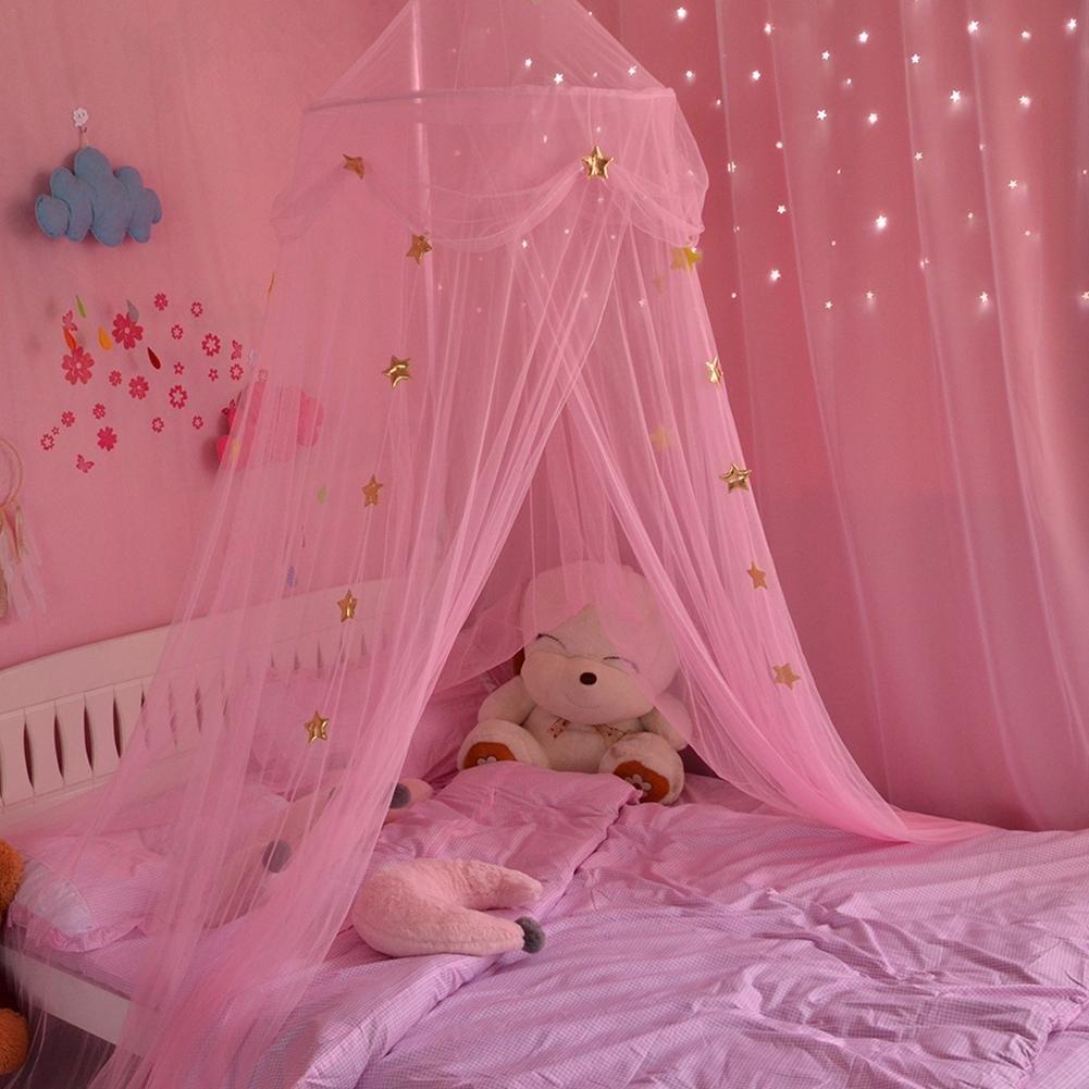 Erstherzschlafzimmer Betthimmel f/ür Kinder Baby Baldachin Spielzimmer Fantasie Schmetterlings Prinzessin Wind h/ängendes Zelt der Hauben-Moskito