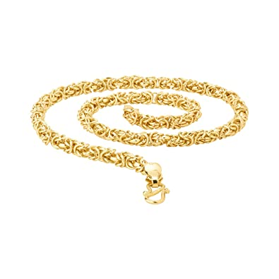 60aa55291a8f4 Voylla Chain Necklace for Men (Golden)(8907617442228)  Amazon.in  Jewellery