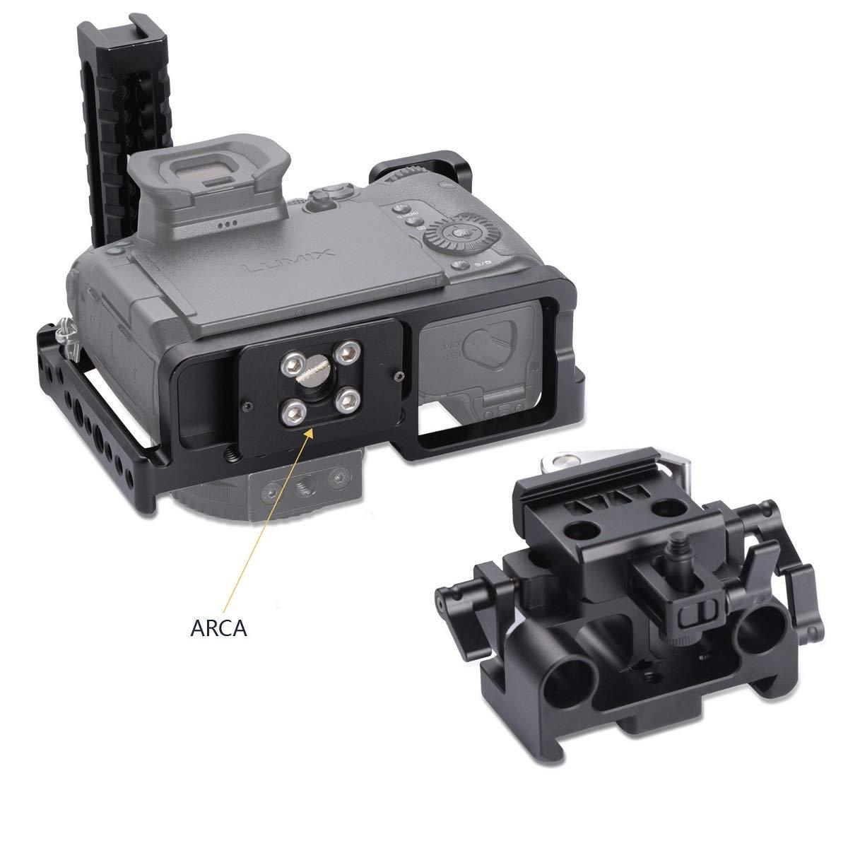 SMALLRIG Kit de Cage GH5/GH5S para Panasonic Lumix GH5/GH5S (Jaula ...