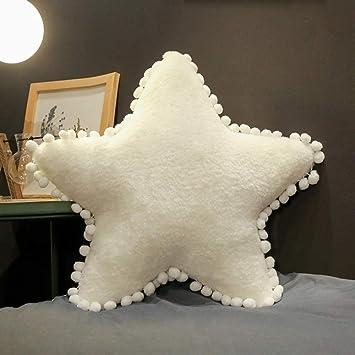 Creative Series - Almohada De Siesta De Peluche Toy Star 50x40cm 4 ...