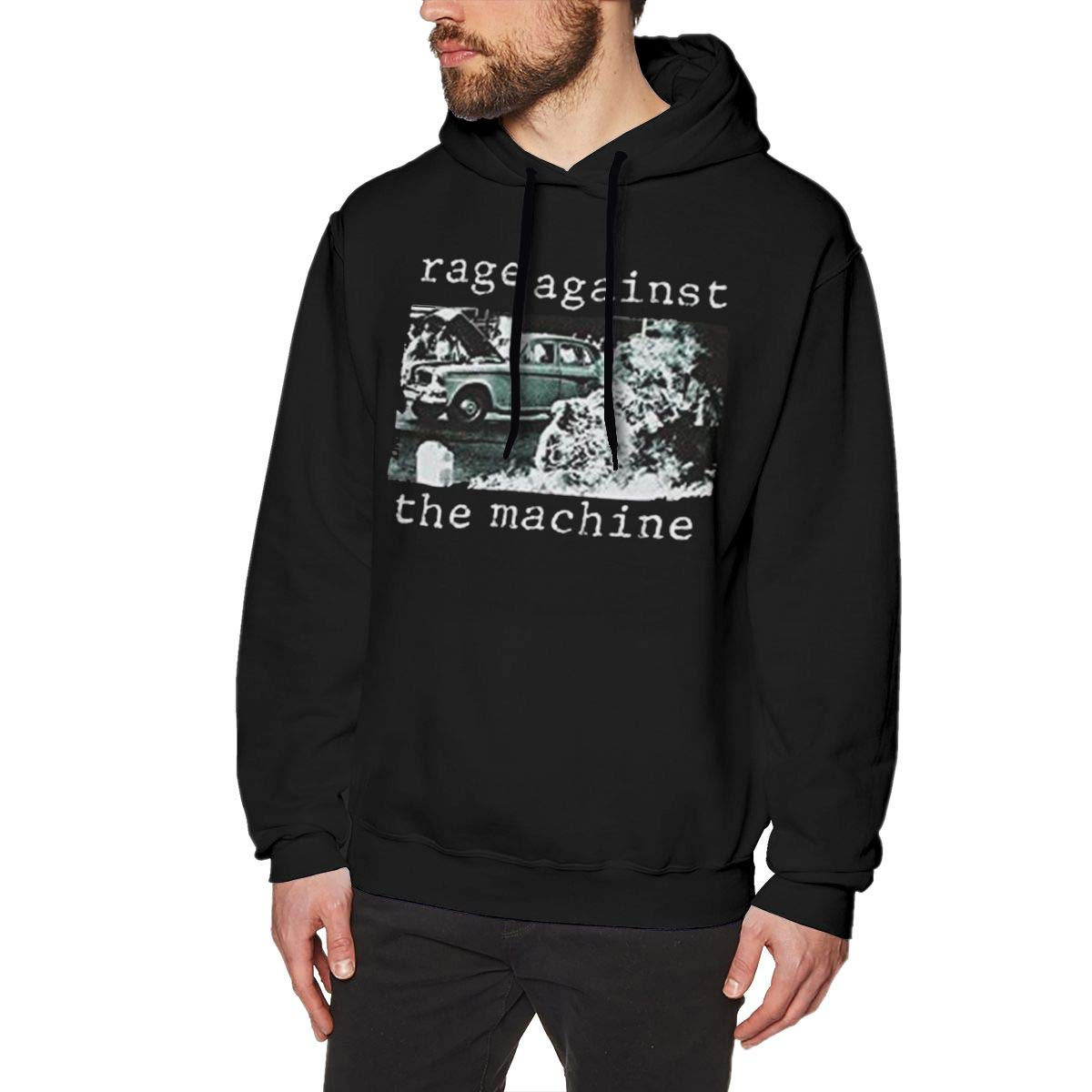 Comilee Mens Rage Against The Machine Band Casual Hiking Sweater Long Sleeve