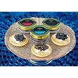 LIMITED TIME SPECIAL! C&C SAMPLER 3 jars - Siberian Osetra, Premium Sturgeon, Royal Osetra Caviar 3 x 20g ea FREE Spoon