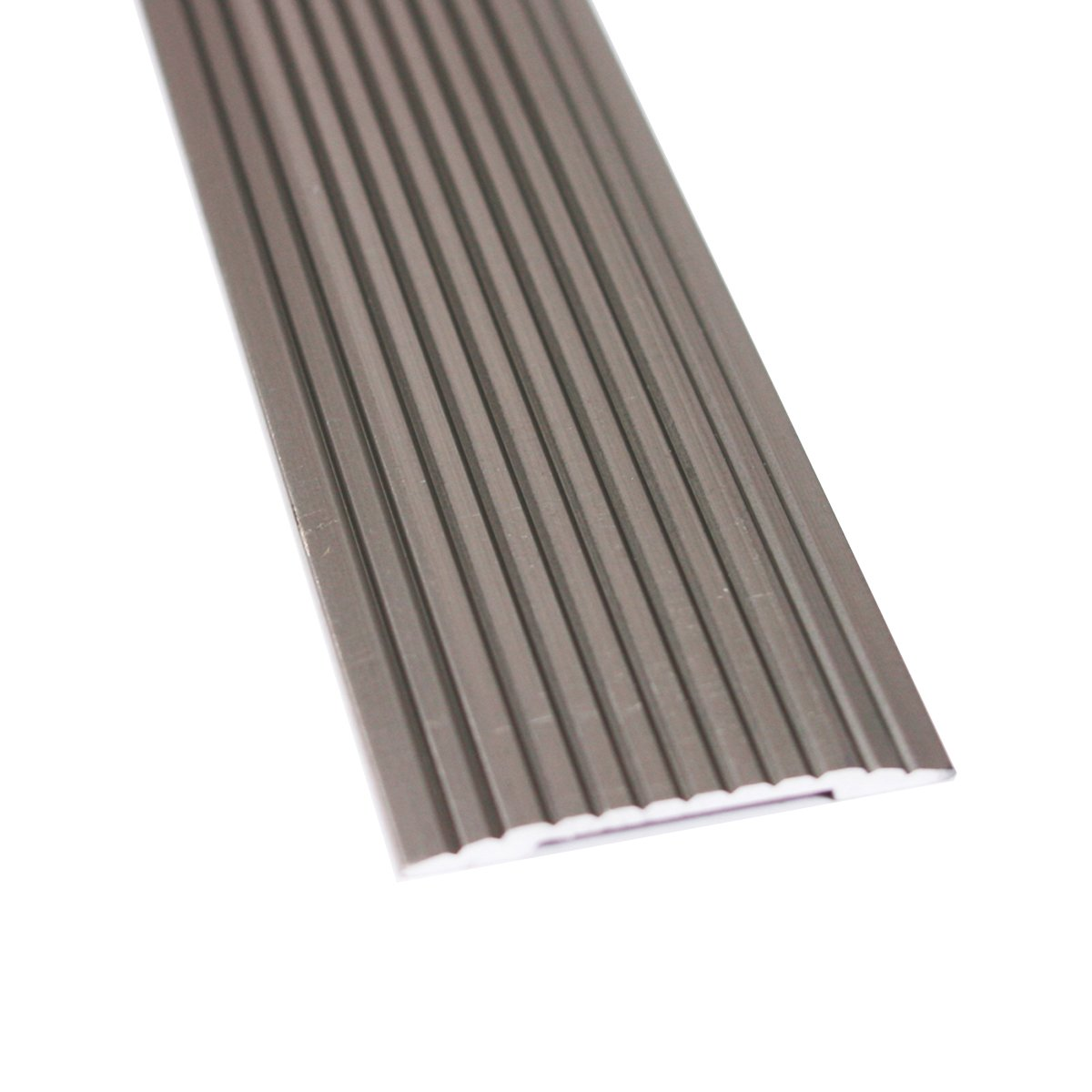 M-D Building Products 43872 M-D Wide Fluted Seam Binder, 1-1/4 in W X 36 in L X 0.1 in H, Pewter