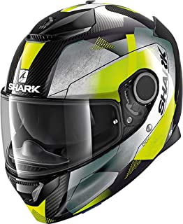 Motorcycle helmets Shark SPARTAN CARBON 1.2 SKIN DKA Noir XS