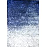 Ocean Bridge – Home Decor Collection – Offshore Mist Area Rug, 5X7', Blue