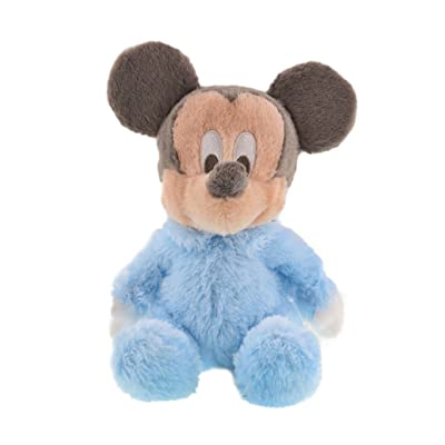 "Disney Soft 10"" Plush Baby Mickey Mouse with Rattle Inside: Toys & Games [5Bkhe0702710]"