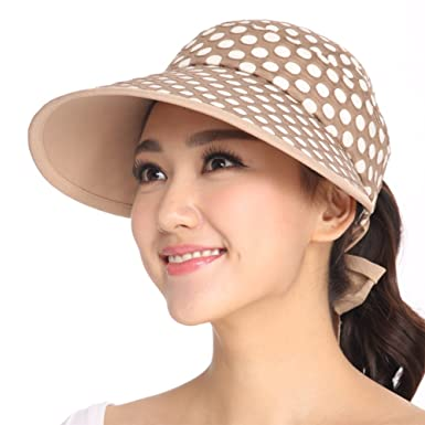 Summer Sun hats Leisure sports Cap Anti-UV hats No Hat Visors-B at ... b3ee42af8a5