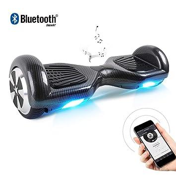 TOEU Hoverboard, Eléctrico Auto Equilibrio Scooter 6.5 ...