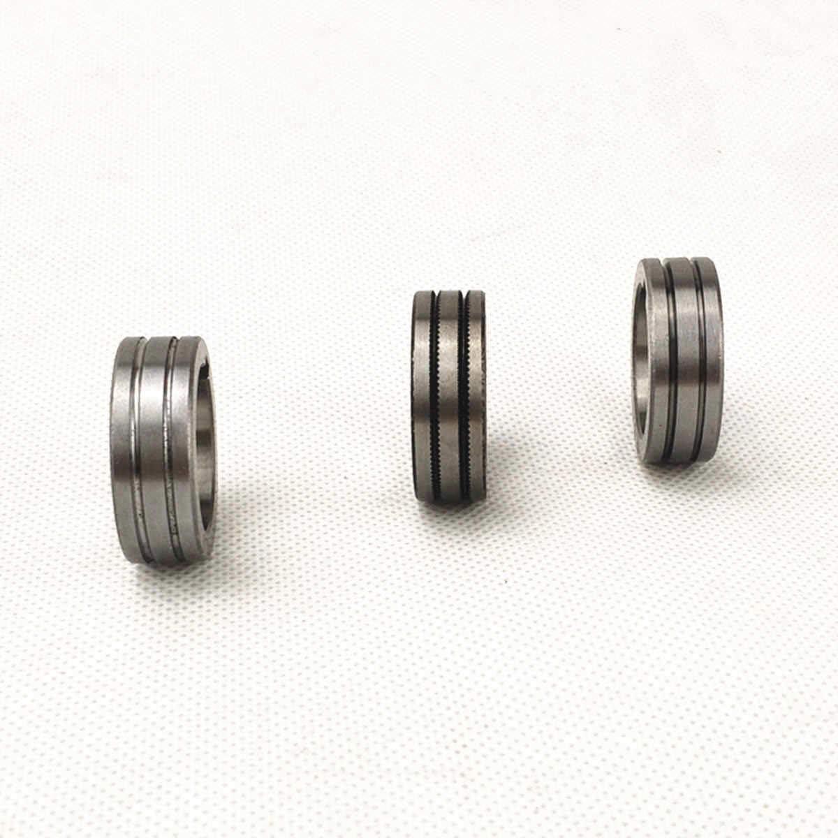 Poste /à souder Mig Fil dalimentation pour rouleau V U K Molette Groove pour 0.8/1.0/1.2/mm Acier Aluminium Cordon de flux de soudure Fil Feeder Rouleau