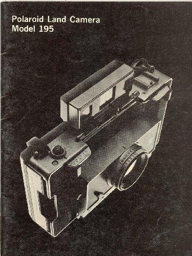 Polaroid Land Camera Model 195 Original Instruction Manual