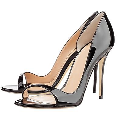e5add64cd75 MERUMOTE Women s Y-184 Sexy Narrow Toe Strap Thin High Heels Party Wedding Dress  Pumps