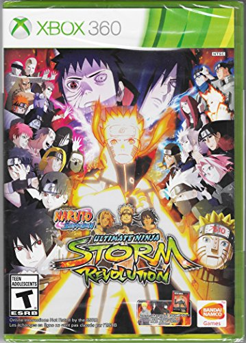 Xbox 360 - Naruto Shippuden: Ultimate Ninja Storm Revolution, Day One Edition. (Naruto Shippuden Ultimate Ninja Storm Revolution Dlc)