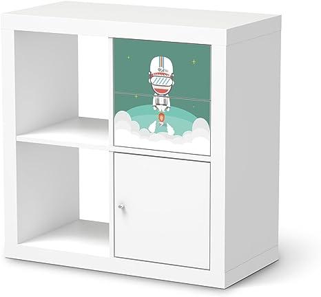Niños-habitación decoración para cajones estantería IKEA ...