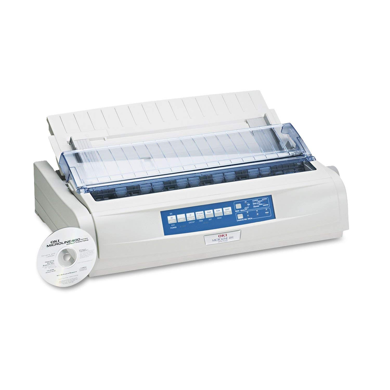 Oki MICROLINE 491 Dot Matrix Printer (62419001) (Renewed)