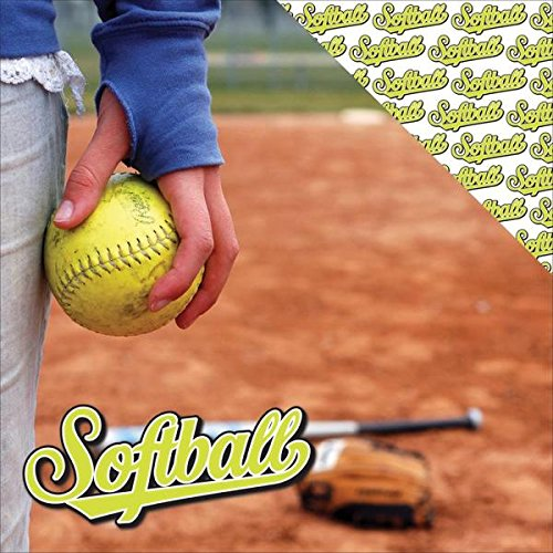 Reminisce The Softball Collection Scrapbook Papers -Softb...