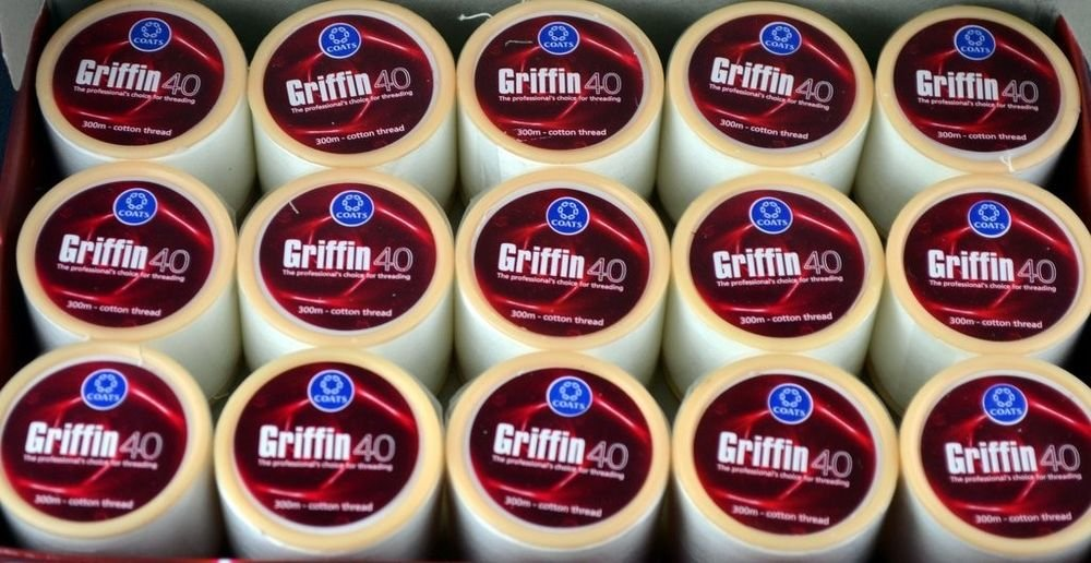 Griffin Cotton Eyebrow Threading Thread Sold by Spools TKT 40 -300 Mt each spool