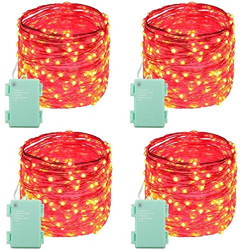 RUICHEN(TM) Battery powered Led String Light, 240 LED Ind...