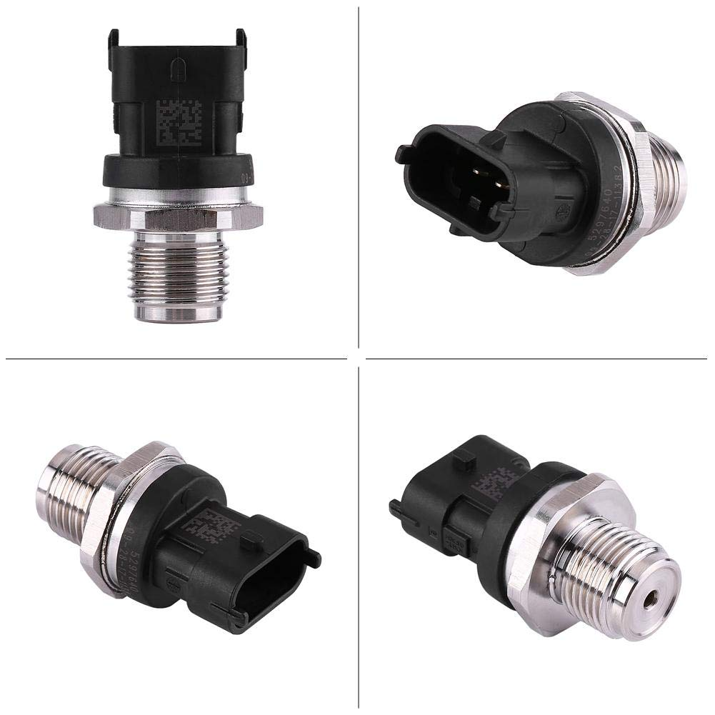 Fuel Rail Pressure Sensor Fit for Dodge Cummins 2007-2012 6.7L 68002436AB 5261327 5297640