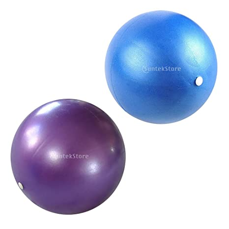 P Prettyia 2 x Mini Balón de Pilates Gimnasio Resistente Anti ...