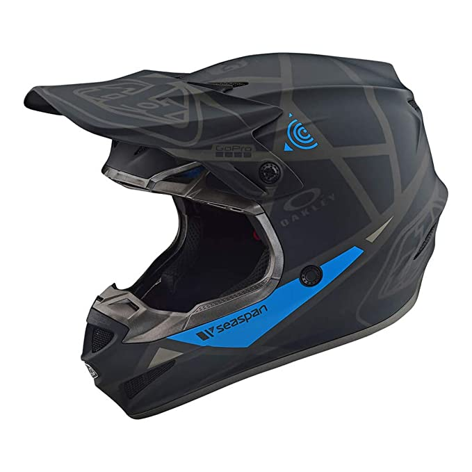 Amazon.es: Troy Lee Designs 2019 SE4 polyacr ylite Metric Negro Casco Motocross Enduro