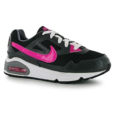 the latest ea591 52099 Nike Air Max Skyline Older Girls Womens Trainers Black Pink UK Size 3 EU  35.5 New  Amazon.co.uk  Shoes   Bags