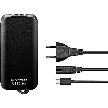VOLTCRAFT Cargador USB Steckdose USBC 60W USB-C hembra ...